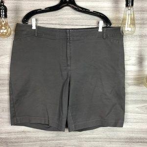 + Size Apt. 9 Grey Shorts Size 16W